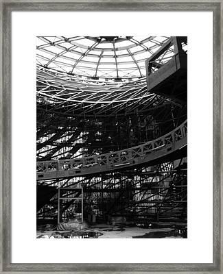 Tornado Skeleton - 4 Of 5 Framed Print by Alan Todd