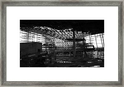 Tornado Skeleton - 5 Of 5 Framed Print