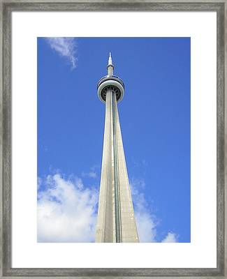 Tornto Needle Framed Print by Heather Weikel