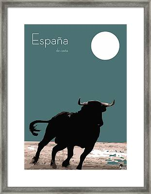 Toro Bravo  Framed Print by Quim Abella