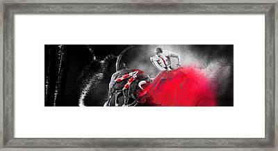 Toro Tarantino Framed Print by Miki De Goodaboom