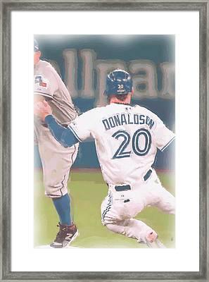Toronto Blue Jays Josh Donaldson 3 Framed Print