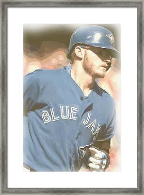 Toronto Blue Jays Josh Donaldson 4 Framed Print