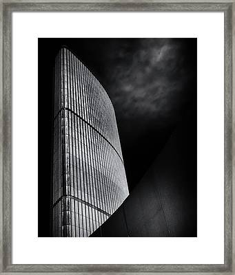 Framed Print featuring the photograph Toronto City Hall No 5 by Brian Carson