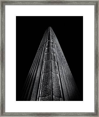 Framed Print featuring the photograph Toronto City Hall No 8 by Brian Carson