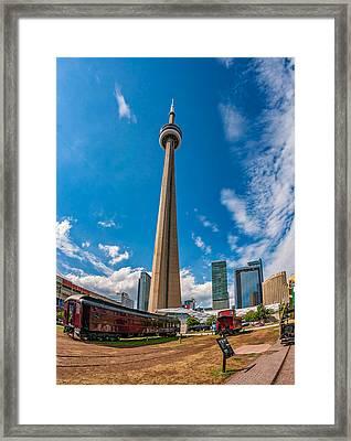 Toronto Cn Tower 3 Framed Print