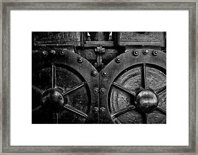 Toronto Distillery District 1 Framed Print by Brian Carson