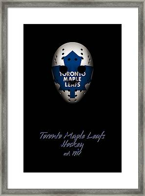 Toronto Maple Leafs Established Framed Print by Joe Hamilton