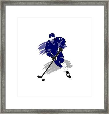 Toronto Maple Leafs Player Shirt Framed Print