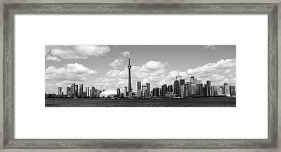 Toronto Skyline 11 Framed Print