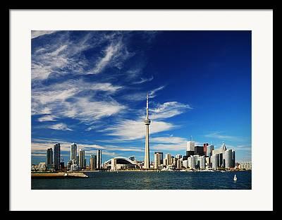 Toronto Photographs Framed Prints