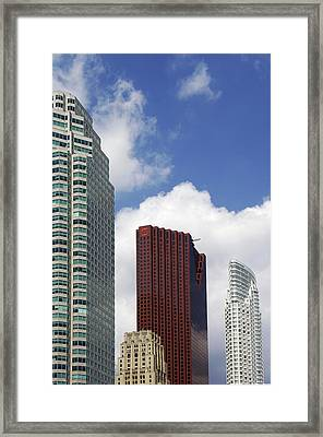 Toronto Towers Framed Print