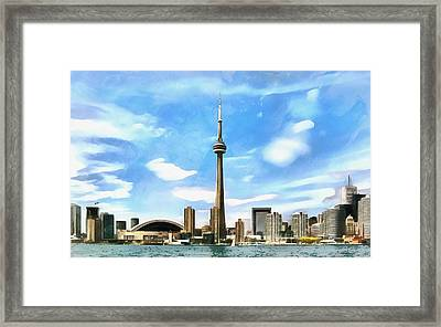 Toronto Waterfront - Canada Framed Print