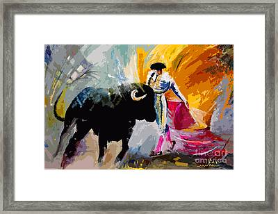 Toroscape 03 Framed Print