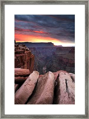 Toroweap Dawn Framed Print by Eric Foltz