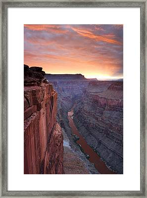 Toroweap Sunrise Framed Print