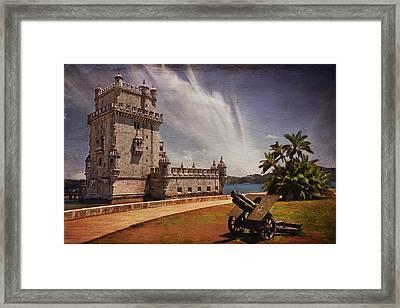 Torre De Belem Lisbon Framed Print