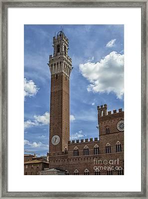 Torre Del Mangia Framed Print