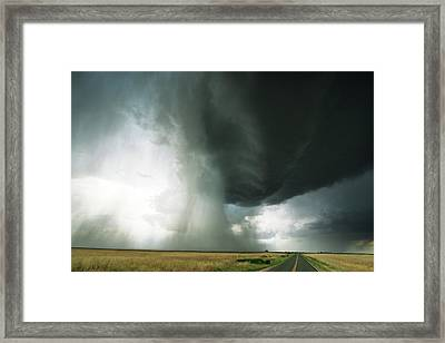 Torrential Framed Print