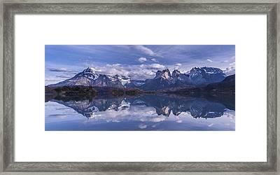 Torres Del Paine Framed Print by Vladimir Driga