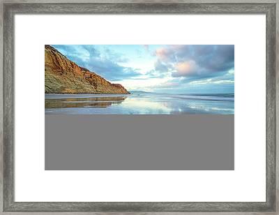 Torrey Clouds Framed Print