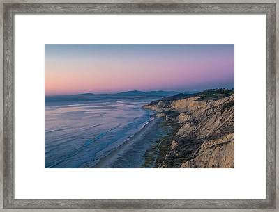 Torrey Glow Framed Print by Thomas Kaestner