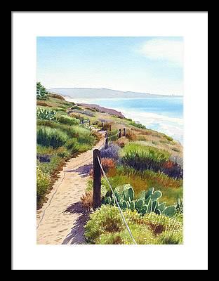 Pacific Ocean Framed Prints