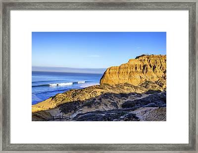 Torrey Pines Morning Framed Print