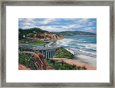 Torrey's Bridge Framed Print