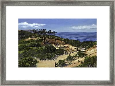 Torrey's Hike Framed Print