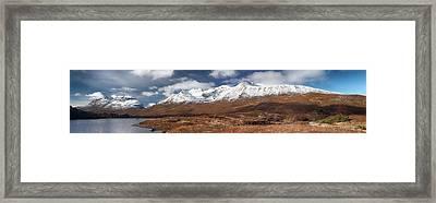 Torridon Panorama Framed Print