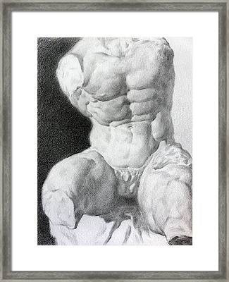 Torso 1 Framed Print by Valeriy Mavlo