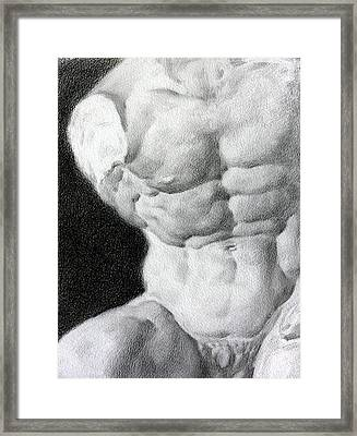 Torso 1a Framed Print