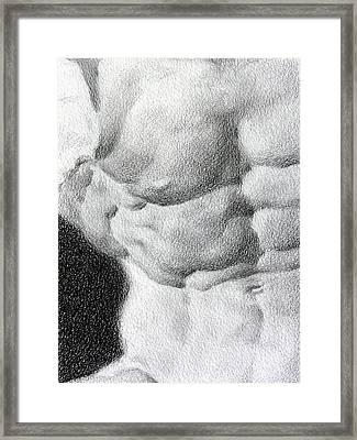 Torso 1b Framed Print
