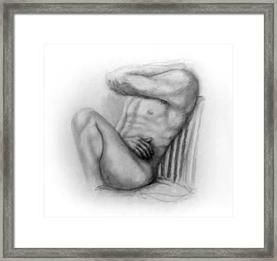 Torso Chris I Framed Print by John Clum