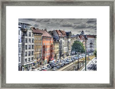 Torstrasse Berlin Framed Print