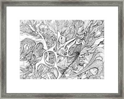Tortuosity Framed Print