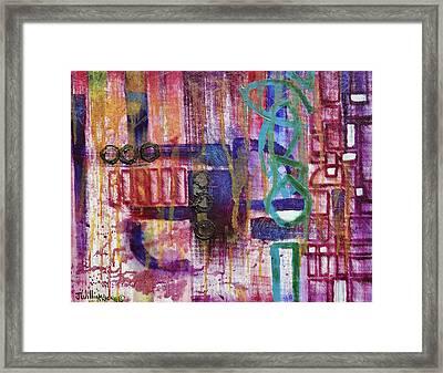 Tortured Links Framed Print