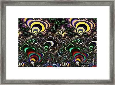 Torus Spirals Framed Print