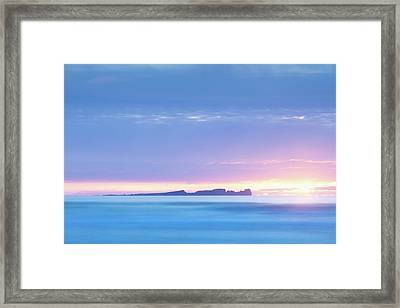 Tory Island Sunset Framed Print by Peter McCabe