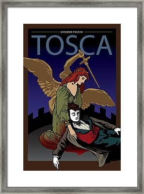 Tosca Framed Print