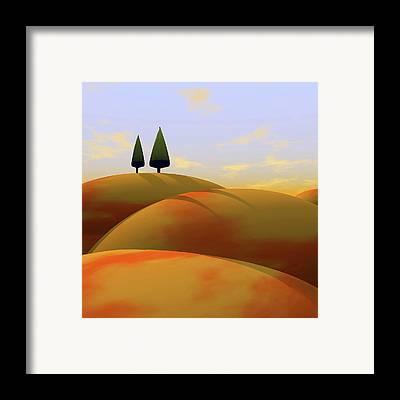 Diptych Framed Prints