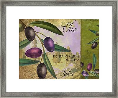 Toscana Framed Print by Mindy Sommers