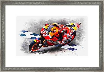 Total Domination Framed Print