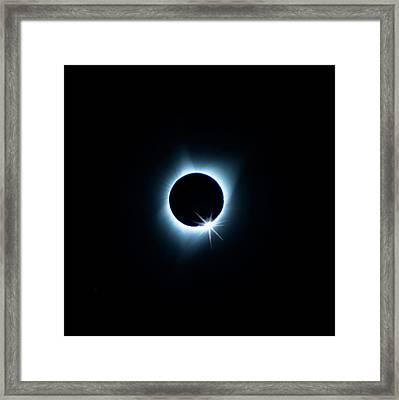 Total Eclipse Framed Print