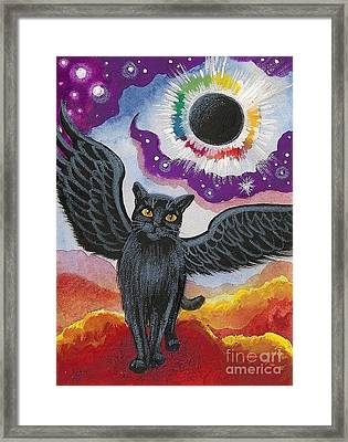 Total Eclipse Of The Sun Framed Print