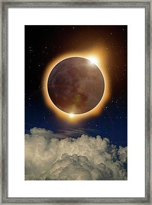 Total Eclipse Framed Print