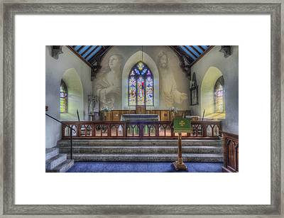 Total Faith Framed Print