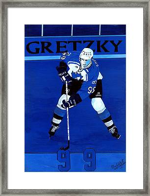 Total Greatness Framed Print