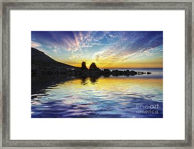 Total Peace Framed Print by Ian Mitchell